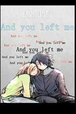 And you left me