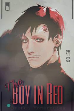 The boy in Red