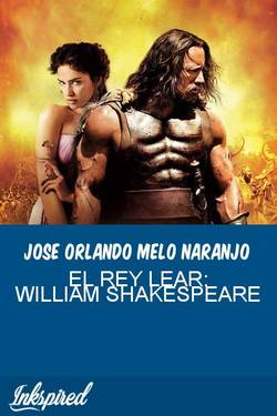 EL REY LEAR: WILLIAM SHAKESPEARE